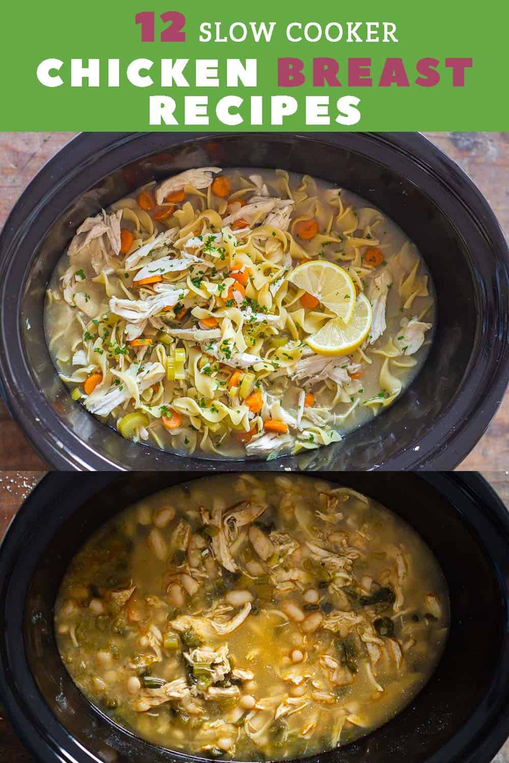 12 Tasty Slow Cooker Chicken Breast Recipes Green Healthy