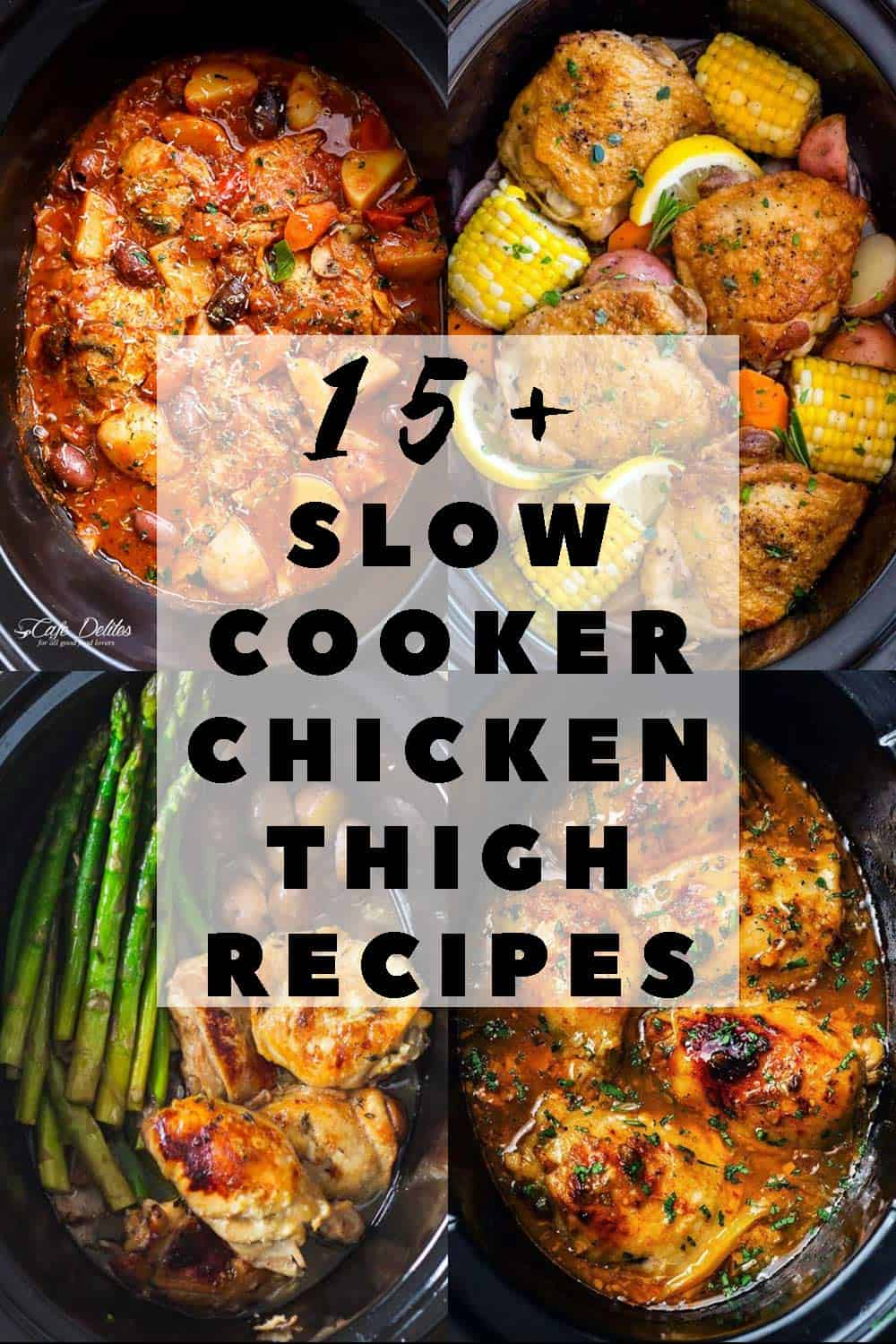 The 15 Best Slow Cooker Chicken Thigh Recipes Green Healthy Cooking