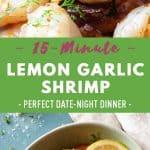 Lemon Garlic Shrimp Pin Collate