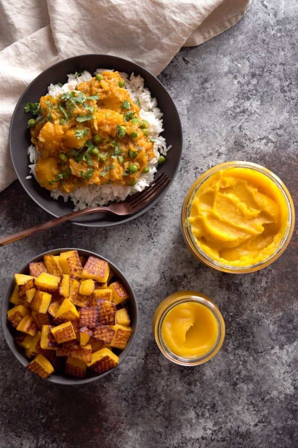 Pumpkin Curry, Roasted Pumpkin, and Pumpkin Puree