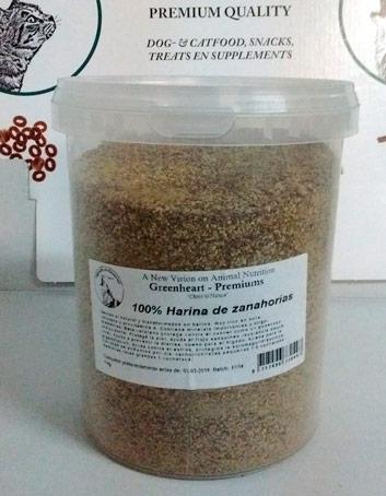 Harina de zanahorias Greenheart