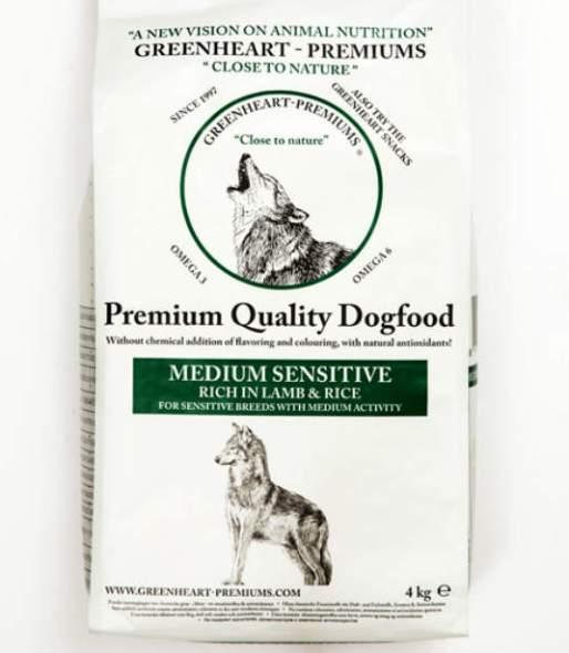Greenheart Medium-sensitive-4kg