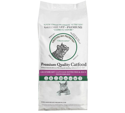 Greenheart Fish&Rice Catfood