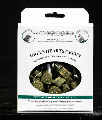 Snacks Greenhearts Green 150 g