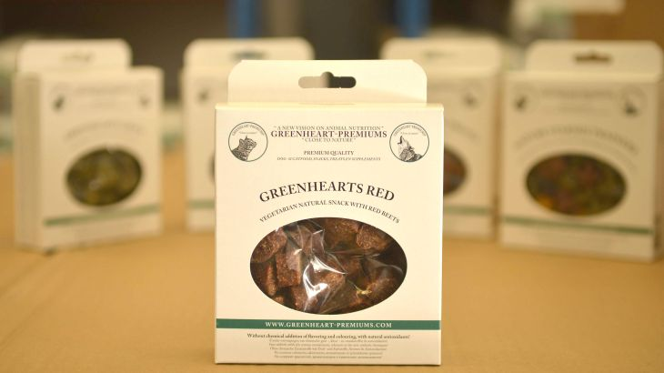 Snacks naturales Greenheart Premiums 150g