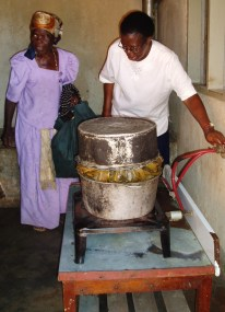 Cooking on Biogas