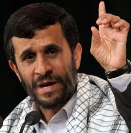 Iranian President Mahmoud Ahmadinejad believes in Al Gore but not the Holocaust.