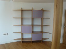 Curved wall unit
