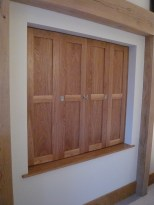 Oak Window shutters