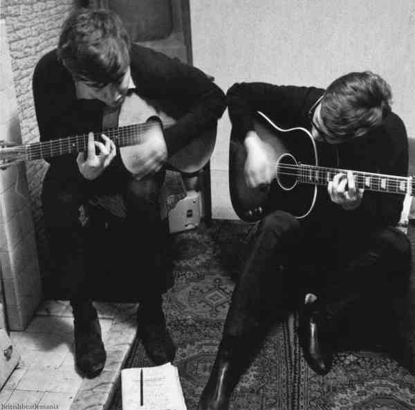Lennon & McCartney writing