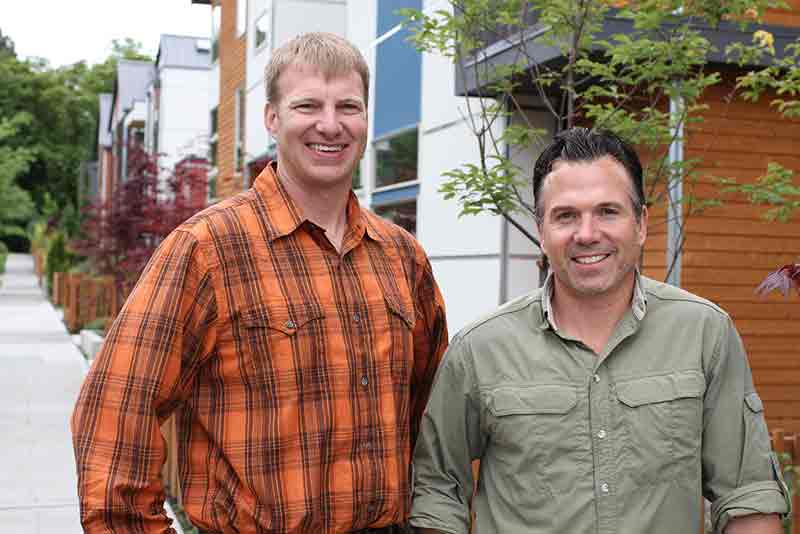 Keith Hammer, principal, teamed up with owner Anthony Maschmedt to co-found Dwell Development.
