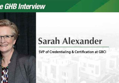 The GHB Interview: Sarah Alexander, Senior Vice President of Credentialing & Certification at GBCI
