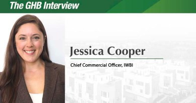 The GHB Interview: Jessica Cooper, Chief Commercial Officer, International WELL Building Institute