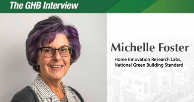 The GHB Interview: Michelle Foster, VP of Sustainability, Home Innovation Research Labs