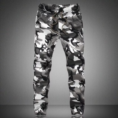 Camouflage Jogger Pants available in 2 colors