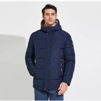 Mens Winter Jacket available in 2 colors blue