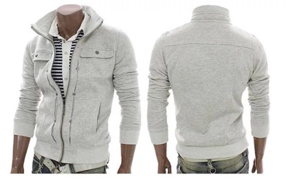 Slim Sweatshirt (White)