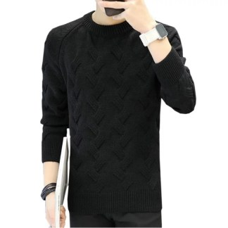 Solid Sweater (Black)
