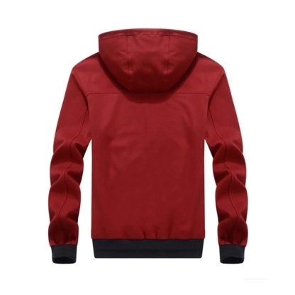 Hooded Zipper Ride Jacket available in 5 colors