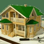 Преимущества каркасного дома