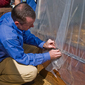 HOW TO ANCHOR GREENHOUSE PLASTIC featured image