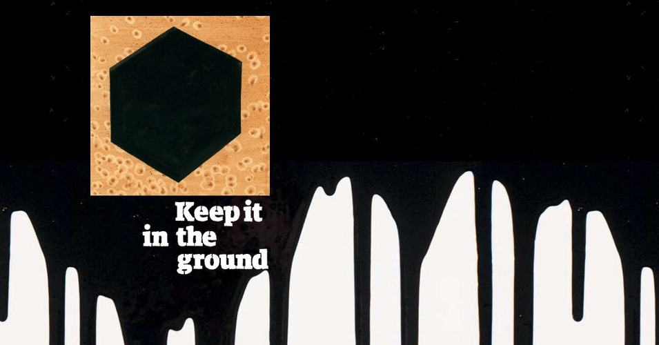 Image result for keep it in the ground Guardian