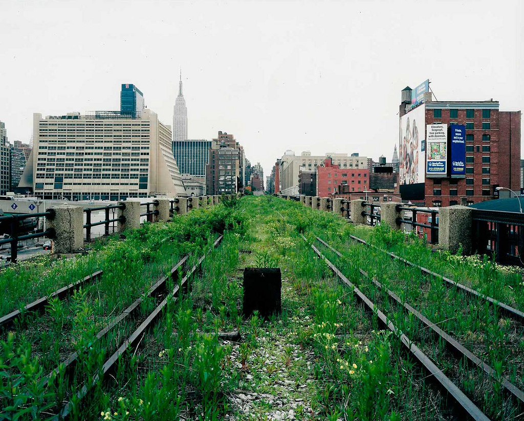 View along the Highline