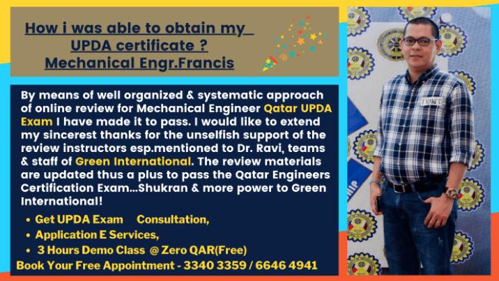 UPDA Mechanical Study Material l UPDA Qatar Exam Syllabus l UPDA Mechanical Mock Test l MMUP Mechanical Exam Questions | UPDA Training Qatar