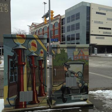 Decorative utility boxes and the new Cleveland Institute of Art
