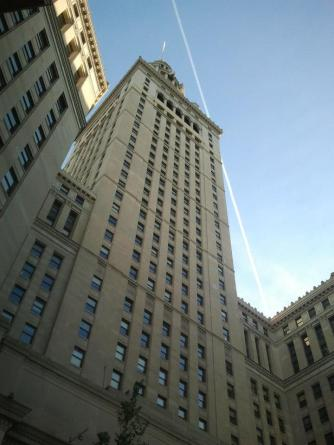 The Terminal Tower, Tower City's centerpiece