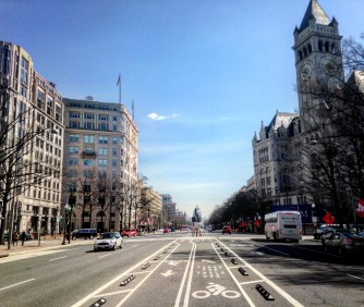 Pennsylvania Ave Cycle Track