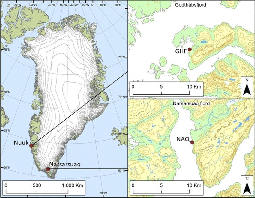 Narsarsuaq map