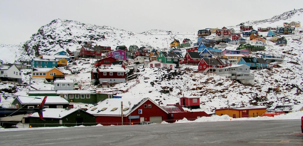 Quaqqortoq snow