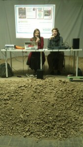 Talk given on rubble stage - Transition style!