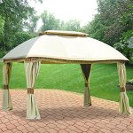 10-X-13-Domed-Gazebo-Replacement-Canopy-RipLock-350-0