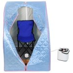 2l-Portable-Steam-Sauna-Tent-SPA-Detox-Weight-Loss-w-Chair-Blue-0-0