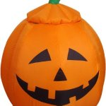 4-Foot-Animated-Halloween-Inflatable-Pumpkin-and-Ghost-Yard-Garden-Decoration-0-0