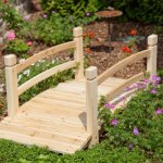 4-foot-Unfinished-Freestanding-Fir-Wood-Garden-Bridge-with-Hand-Rails-and-Posts-Bridge-Can-Be-Treated-with-Your-Preferred-Stain-0