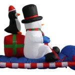 6-Foot-Long-Christmas-Inflatable-Snowman-Penguin-on-Sleigh-Yard-Decoration-0-1