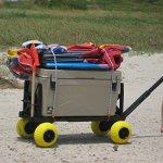 Beach-Wagon-Cart-for-Sand-with-Wheels-All-Terrain-Haul-Cooler-Umbrella-Chair-0