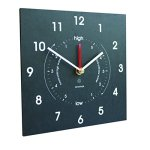 Bosmere-W420-Eco-Time-and-Tide-IndoorOutdoor-Recycled-Clock-Black-0