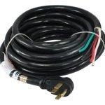 Conntek-14302-RVGenerator-Power-Cord-30-Foot-50-Amp-Male-Plug-To-Bare-Wire-0