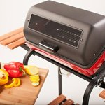 Easy-Street-Electric-Cart-Grill-with-two-folding-composite-wood-side-tables-shelf-and-rotisserie-0-0