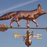 Good-Directions-655P-Fox-Weathervane-Polished-Copper-0-1