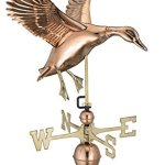 Good-Directions-9605P-Landing-Duck-Weathervane-Polished-Copper-0