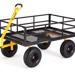 Gorilla-Carts-Heavy-Duty-Steel-Utility-Cart-with-Removable-Sides-and-15-Tires-with-1400-lb-Capacity-Black-0