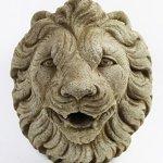 Italian-Lion-Head-Concrete-Wall-Plaque-10-inches-H-x-10-inches-W-0