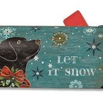 MailWraps-Let-it-Snow-Lab-Mailbox-Cover-01242-by-MailWraps-0