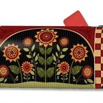 MailWraps-Primative-Sunflowers-Mailbox-Cover-01146-by-MailWraps-0