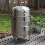 Meco-Double-Grid-Electric-Water-Smoker-0